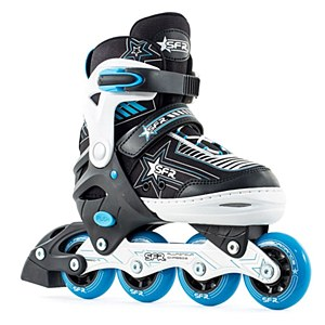 SFR Pulsar Adjustable Skates Blue Small