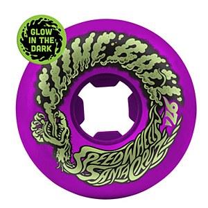 Slime Balls Vomit Mini Neon Purple 56mm 97a