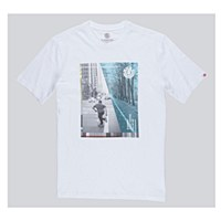 Element Avenue T Shirt Optic White Medium