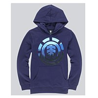 Element Glimpse Icon Hoodie Navy Youth 12