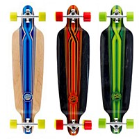 Mindless Longboard  Savage III Red Black