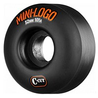 Mini Logo C-Cut Wheels Black 101a 52mm