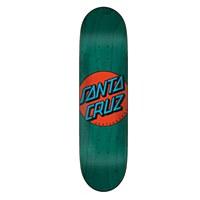 """Santa Cruz Classic Dot Taper Tip Green 8.375"""""""