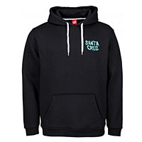 Santa Cruz Wall Hand Hoody Black Large