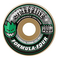 Spitfire Formula Four Conical 101DU 52mm Green Print