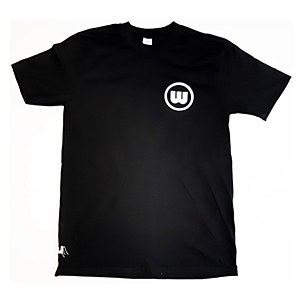 Wreckless Circle Logo T-Shirt Black Large