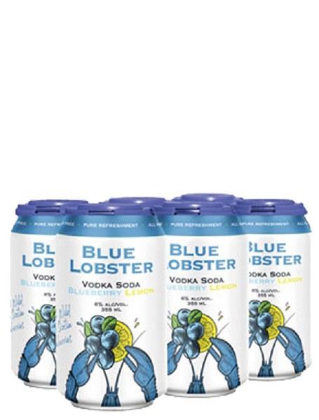 Blue Lobster Blueberry Lemon