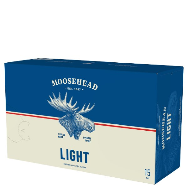Moosehead Light 15pk