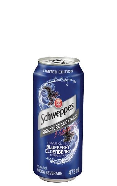 Schweppes Blueberry Elderberry