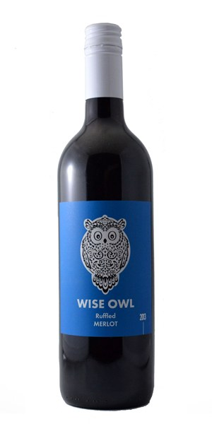 Wise Owl Ruffled Merlot