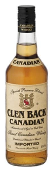 Clen Back Canadian Whisky
