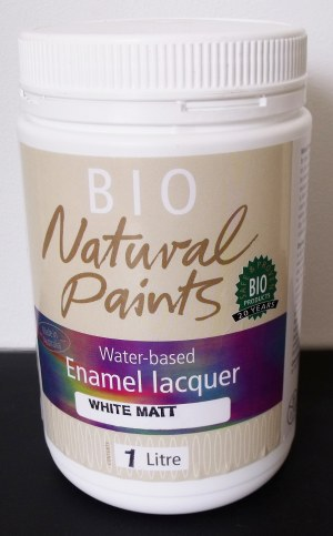 Bio Enamel Lacquer Matt White 1L Water-based