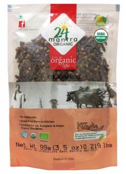 24 Mantra Organic Cloves 100g