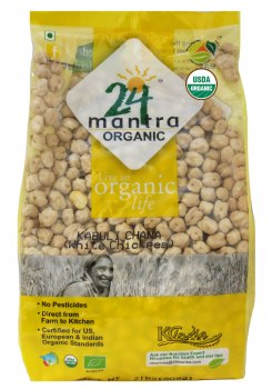 24 Mantra Organic Kabuli Chana 4lb