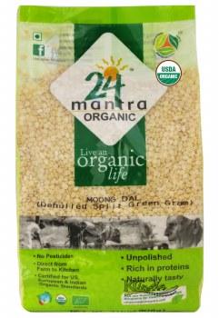 24 Mantra Organic Moong Dal 1lb