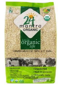 24 Mantra Organic Urad Dal 4lb