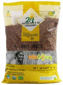 24 Mantra Organic Red Rice 4lb
