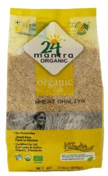 24 Mantra Organic Wheat Daliya 2lb