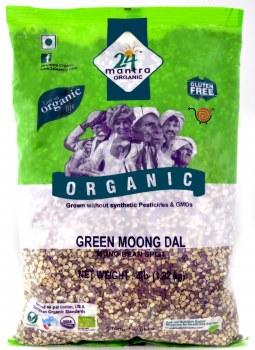 24 Mantra Organic Split Moong Dal 4lb