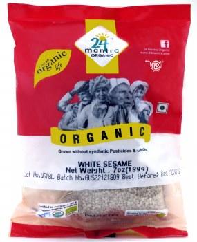 24 Mantra Organic Sesame Seeds 200g