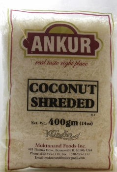 Ankur Coconut Shredded 400g