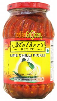 Mother's Lime Chilly 500g