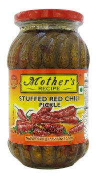 Mother's Stuffedredchili 500g