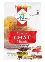 24 Mantra Organic Chat Masala 50g