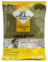 24 Mantra Organic Whole Moong 4lb
