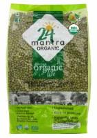 24 Mantra Organic Whole Moong 2lb