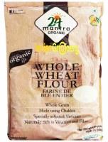 24 Mantra Organic Whole Wheat Atta 10lb