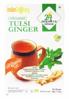 24 Mantra Organic Tulsi Green Tea 50g