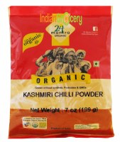 24 Mantra Organic Kashmiri Chilli Powder 200g