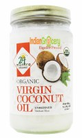 24 Mantra Organic Coconut Oil 14 Oz