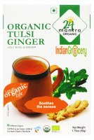 24 Mantra Organic Tulsi Ginger 50g