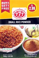 777 Spiced Dhall Powder 165g