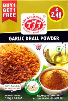 777 Garlic Dhall Powder 165g