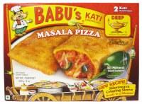 Babu's Masala Pizza 8oz