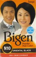 Bigen Dye Oriental Black N10