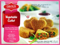 Bikaji Vegetable Cutlet 240g