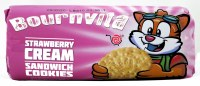 Bournvita Strawberry Cream Biscuits 180g