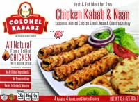 Ck Chicken Kabab & Nan 383g