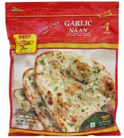 Deep Garlic Naan 4pc 333g