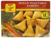 Deep 12 Mixed Vegetable Samosa