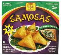 Deep 24 Spinach Paneer Samosas