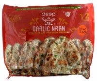 Deep Garlic Naan Bulk 12pc