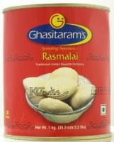 Ghasitaram's Rasmalai 1kg