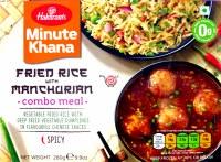 Haldiram's Fried Rice Manchur Combo Meal 280gm