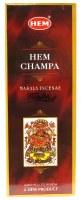 Hem Champa Incense 6 Pack