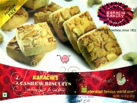 Karachi Bakery Cashew Biscuits 400g